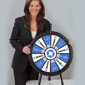 Mini Prize Wheel with Graphics Made in USA