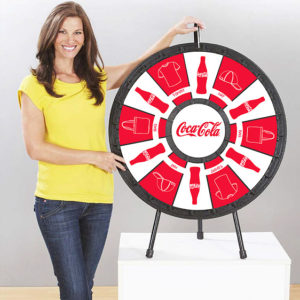 12 slot Tabletop Prize Wheel American Made