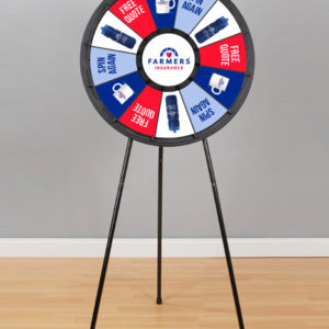 12 slot Floor Stand Prize Wheel American Made