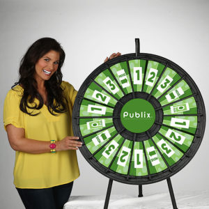 18 slot Tabletop Prize Wheel American Made