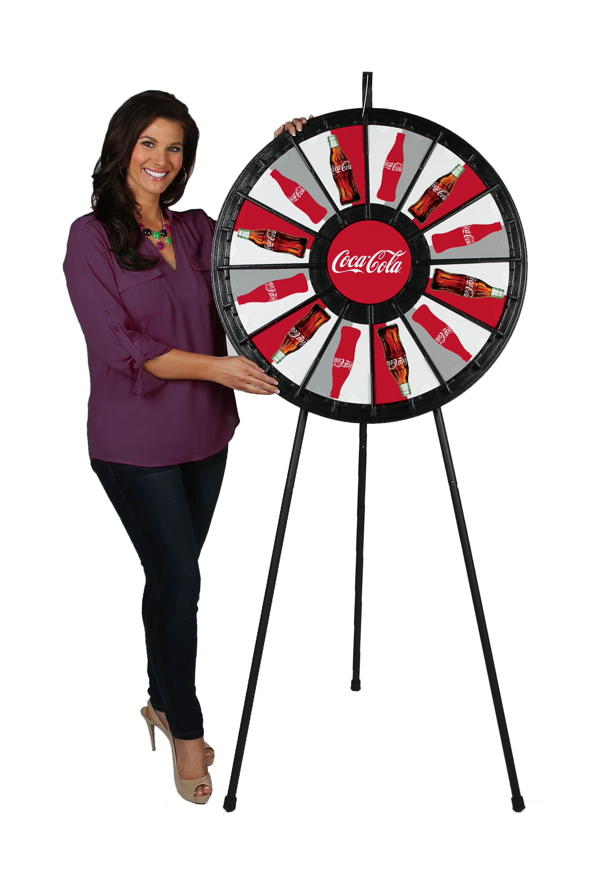 12 – 24 slot Floor Classic Prize Wheel