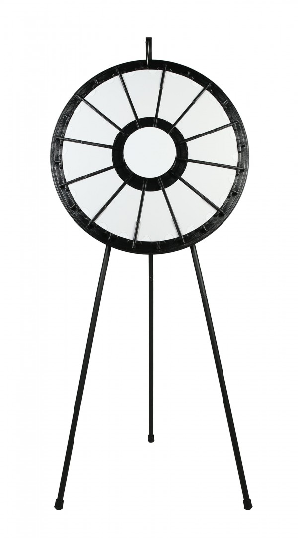 12-24 slot Floor Stand Prize Wheel Front