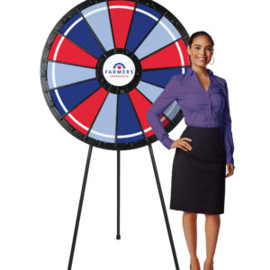 Big PrizeWheel with Model