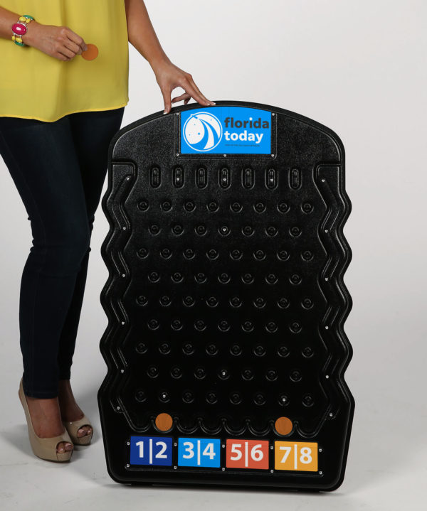 Black Mini Prize Drop Plinko Made in USA