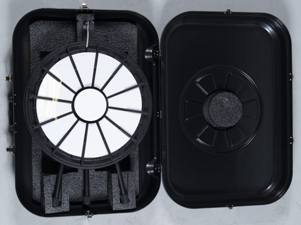 Made in USA Plastic Mini Prize Wheel Travel Case