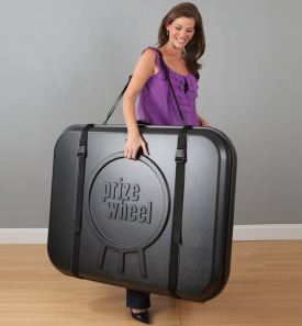 Prize Wheel Travel Case