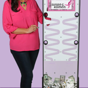 Made in USA Deluxe Donation Stand with Graphics