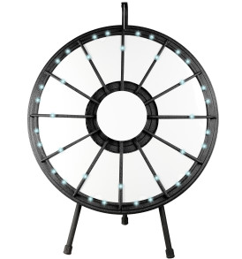 12 slot Tabletop Classic Prize Wheel with Lights