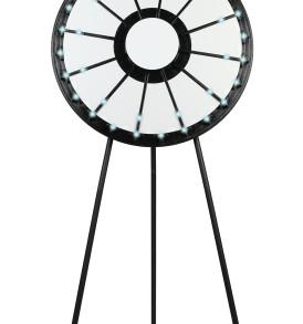 12–24 slot Floor Prize Wheel with Lights