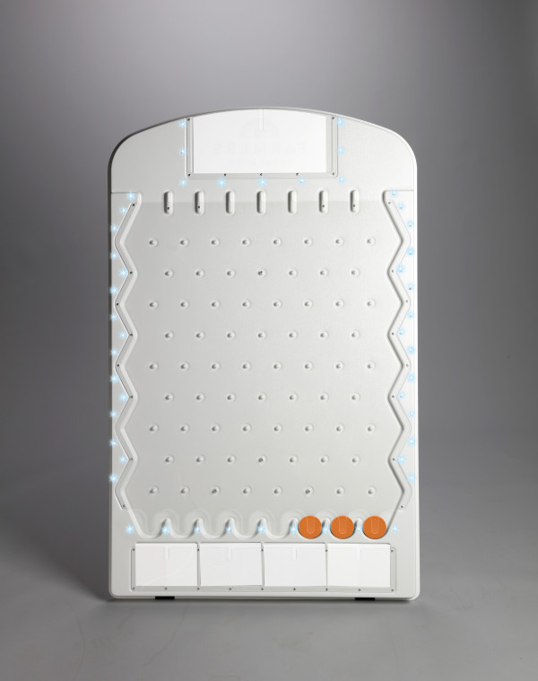 White Plinko Prize Drop with built-in LED Lights