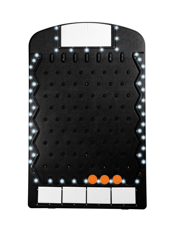Black Big Prize Drop with LED Lights Plinko USA