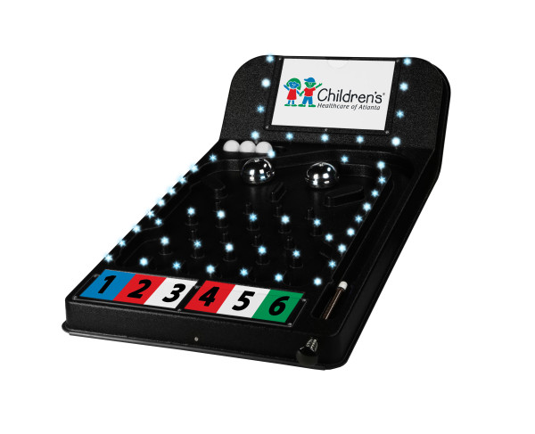 LED Lights in Prize Pinball Promo Game