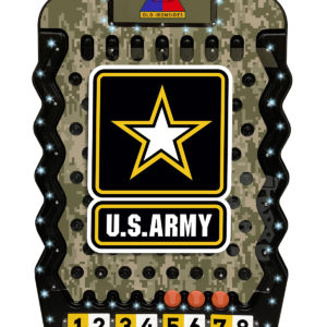 GO ARMY Mini Prize Drop with LED Lights and Enhanced Graphics