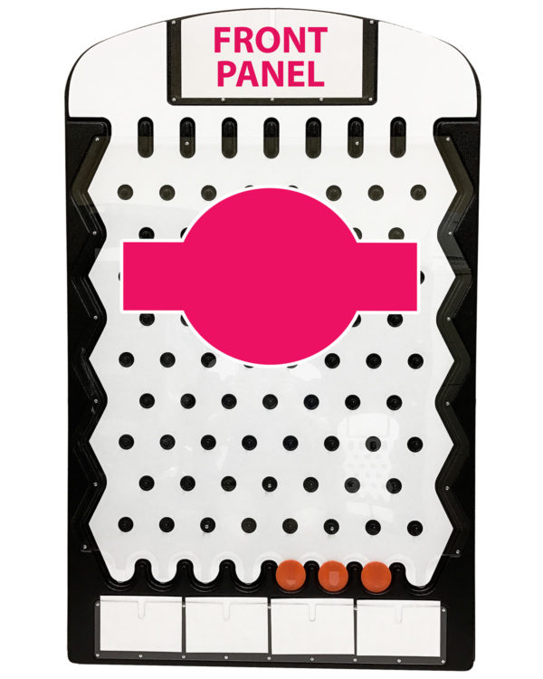Big Prize Drop Front Panel Example Made in USA