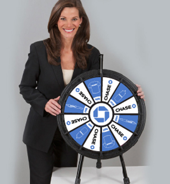 Mini Prize Wheel Front