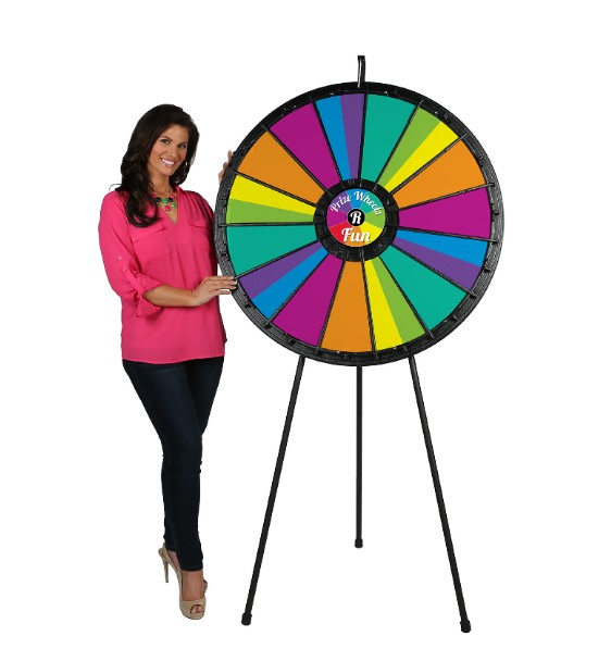 15-30 slot Big Prize Wheel with Model