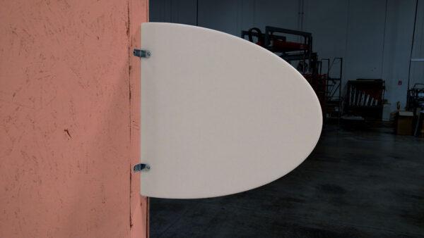 PPE Oval Bathroom Barrier USA