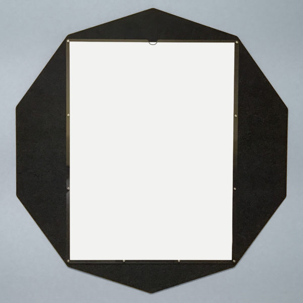 Custom Display Decagon Black