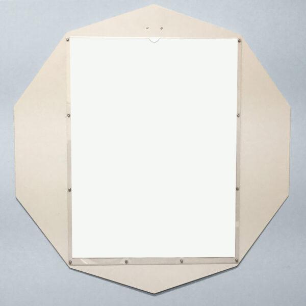 Custom Display Decagon White