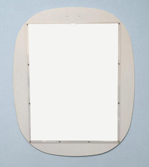 Custom Display Oval White