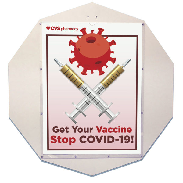 Custom Display Decagon Vaccine